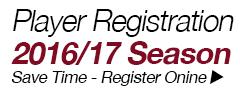 Player Registration - 2016/17